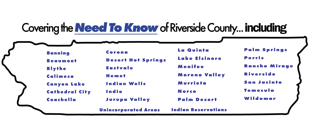 Map Riverside COunty